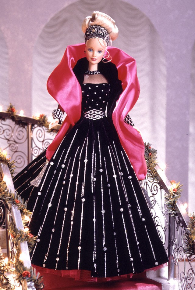 Кукла Барби коллекционная Праздничная 1998 ( Barbie Happy Holidays Special Edition Barbie Doll (1998)