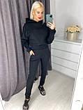 Тёплый удобный женский костюм с начесом VN366, фото 2
