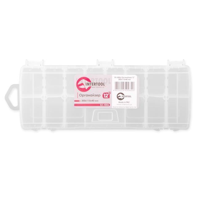 Органайзер пластиковый INTERTOOL BX-4006