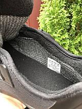 Черные кроссовки мужские  на осень весну зиму, фото 3