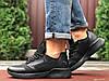 Черные кроссовки мужские  на осень весну зиму, фото 2