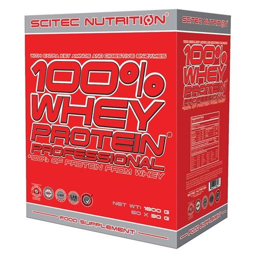 Сироватковий протеїн Scitec Nutrition 100% Whey Protein Professional (60X30 g)