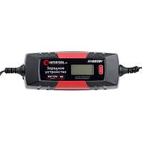 Зарядное устройство 6/12В, 1/2/3/4А, 230В, зимний режим зарядки, дисплей, максимальная емкость заряжаемого