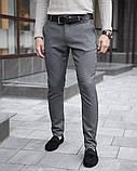 Чоловічі штани 100% (антрацит), фото 2