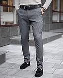 Чоловічі штани 100% (антрацит), фото 3