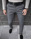 Чоловічі штани 100% (антрацит), фото 4