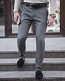Чоловічі штани 100% (антрацит), фото 5