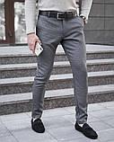 Чоловічі штани 100% (антрацит), фото 6