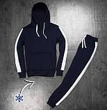 Мужские штаны Lampas zimniy (синие с белым), фото 2