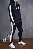 Мужские штаны Lampas zimniy (синие с белым), фото 3