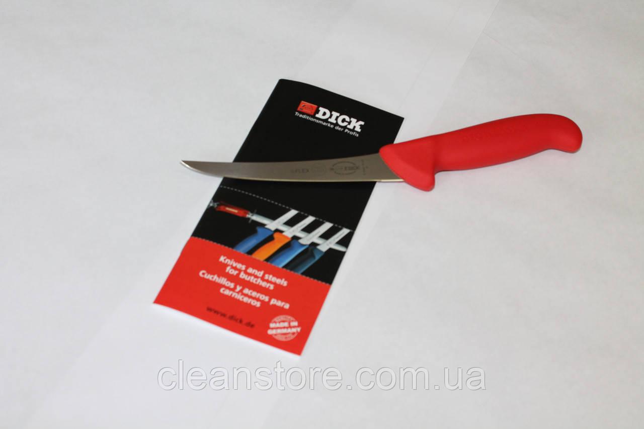 Обвалочный нож жесткий F.Dick 2991 - 130 мм, жесткое лезвие