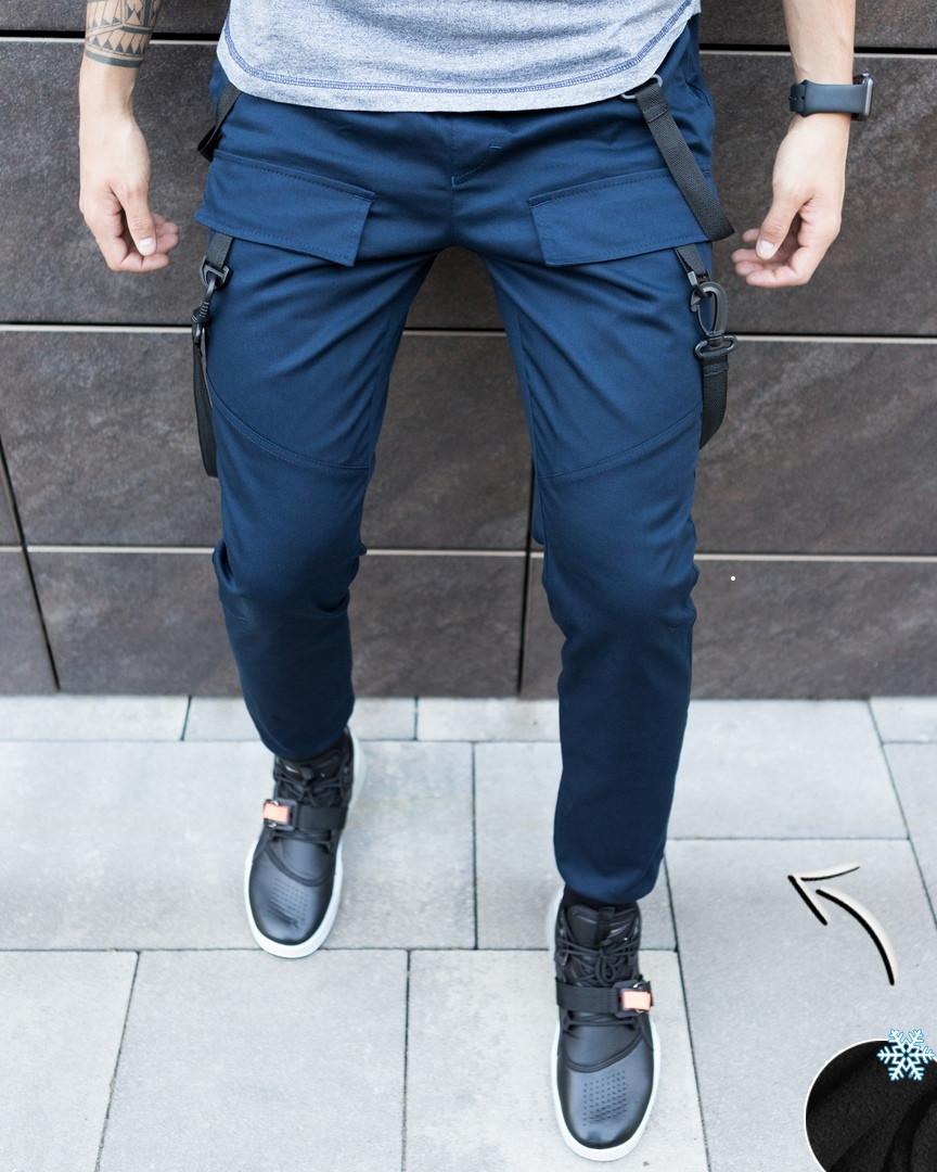 Мужские штаны 'Enot zimniy' (синие)
