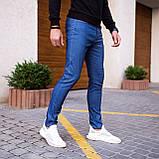 Чоловічі джинси Poleteli (ясно-сині), фото 4