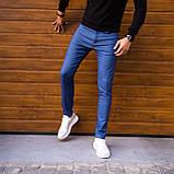 Чоловічі джинси Poleteli (ясно-сині), фото 5