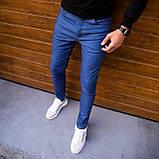 Чоловічі джинси Poleteli (ясно-сині), фото 6