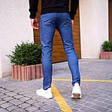 Чоловічі джинси Poleteli (ясно-сині), фото 7