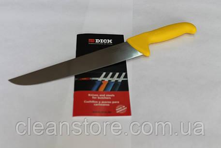 Нож разделочный для мяса профессиональный F.Dick 2348 - 210 мм, жесткая сталь, фото 2
