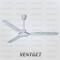 Вентилятор охлаждения и смешивания воздуха, потолочный трехлопастной Turbovent VP 140