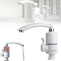 Проточный электрический водонагреватель, кран с подогревом воды, для кухни, для ванной, кран-водонагреватель
