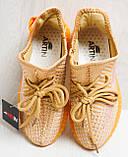 Кроссовки женские оранжевые YEEZY Z 743 37-41р., фото 2