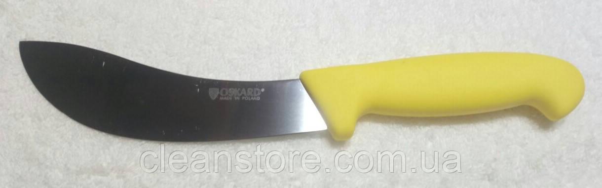 Нож шкуросьемный №10 OSKARD 160мм