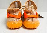 Кроссовки женские оранжевые YEEZY Z 743 37-41р., фото 4
