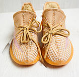 Кросівки жіночі помаранчеві YEEZY Z 743 37-41р., фото 5