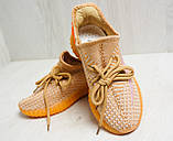 Кроссовки женские оранжевые YEEZY Z 743 37-41р., фото 6