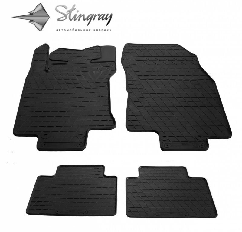 Резиновые коврики в автомобиль Renault Koleos 2016- (Stingray)