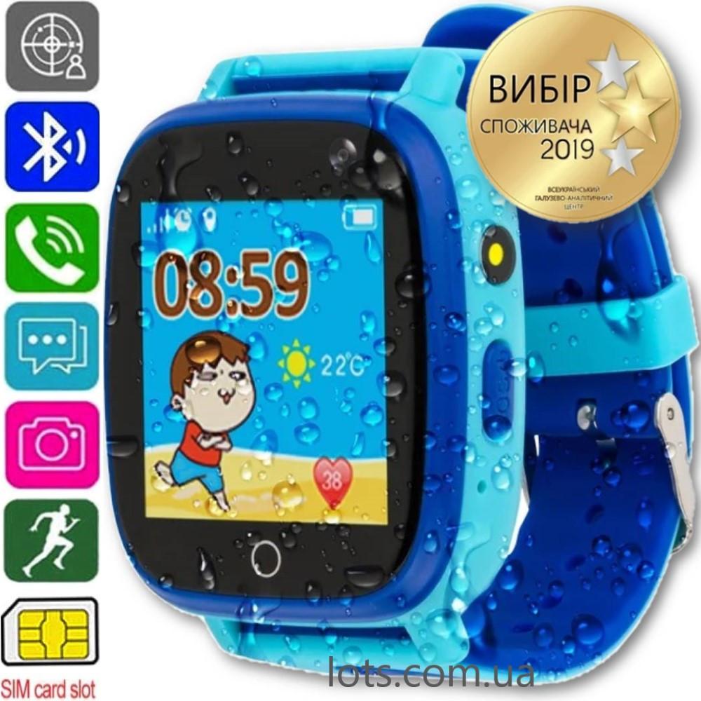 Смарт-часы Детские AmiGo GO001 (iP67) Blue