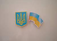 Магниты символика Герб и флаг Украины