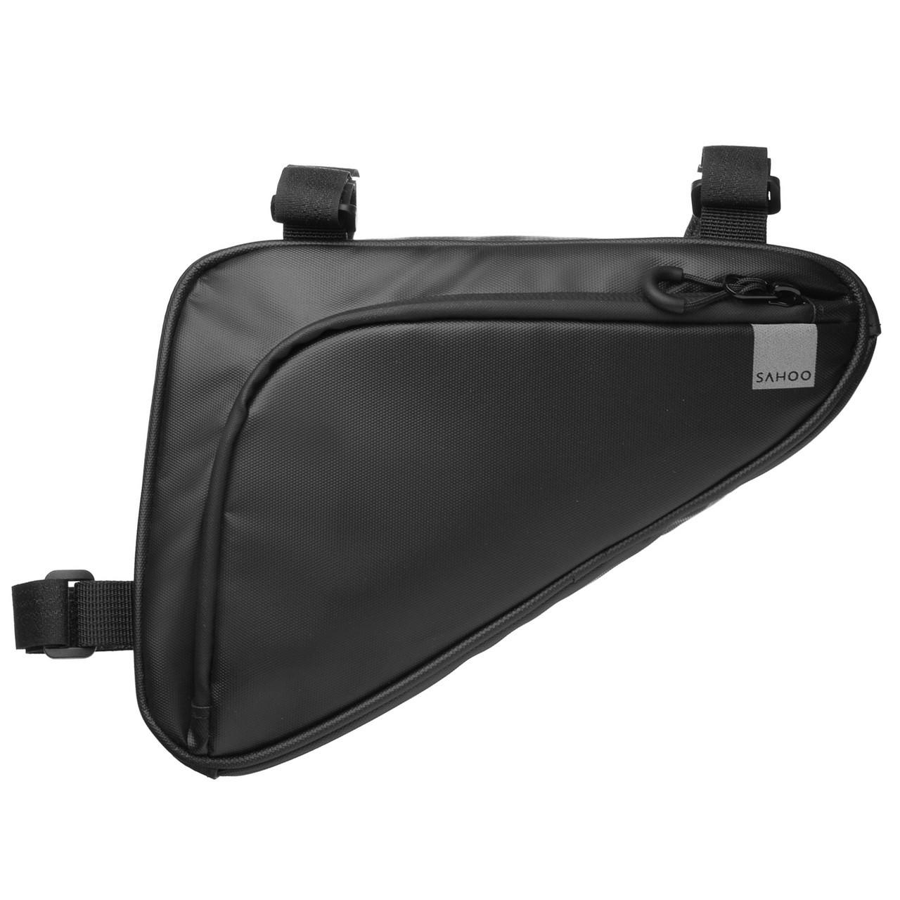 Велосумка під раму Sahoo 122065 Frame Bag 1,5L Black