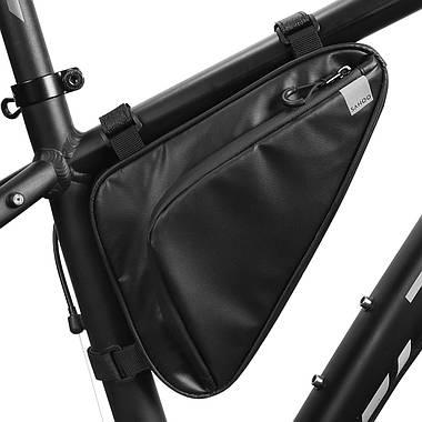 Велосумка під раму Sahoo 122065 Frame Bag 1,5L Black, фото 3