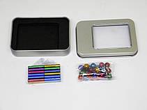 Магнитный конструктор Neo 36 палочек и 26 шариков Разноцветный, фото 3