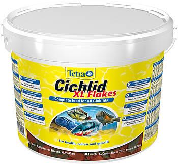 Сухой корм для цихлид Tetra Cichlid Flakes XL, 1000 мл