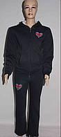 Женский спортивный костюм трёхнитка на флисе. Турция.