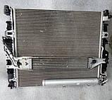 Кассета радиатора на Mercedes GL X164 2006 - 2012 гг Касета радіаторів Мерседес ГЛ, фото 2