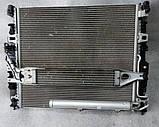 Кассета радиатора на Mercedes GL X164 2006 - 2012 гг Касета радіаторів Мерседес ГЛ, фото 7