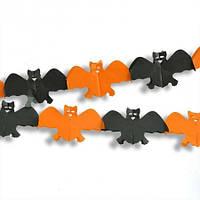 Гірлянда 3D Хеллоуїн кажан