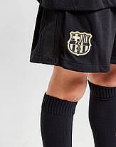 Детская Футбольная форма Барселона гостевая 2020-2021 (Оригинальная Реплика), фото 3