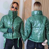 Женская яркая короткая молодежная объемная куртка. цвета!, фото 1