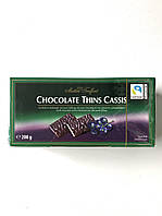Шоколад з чорницею Maitre Truffout Chocolate Orange, 200 г