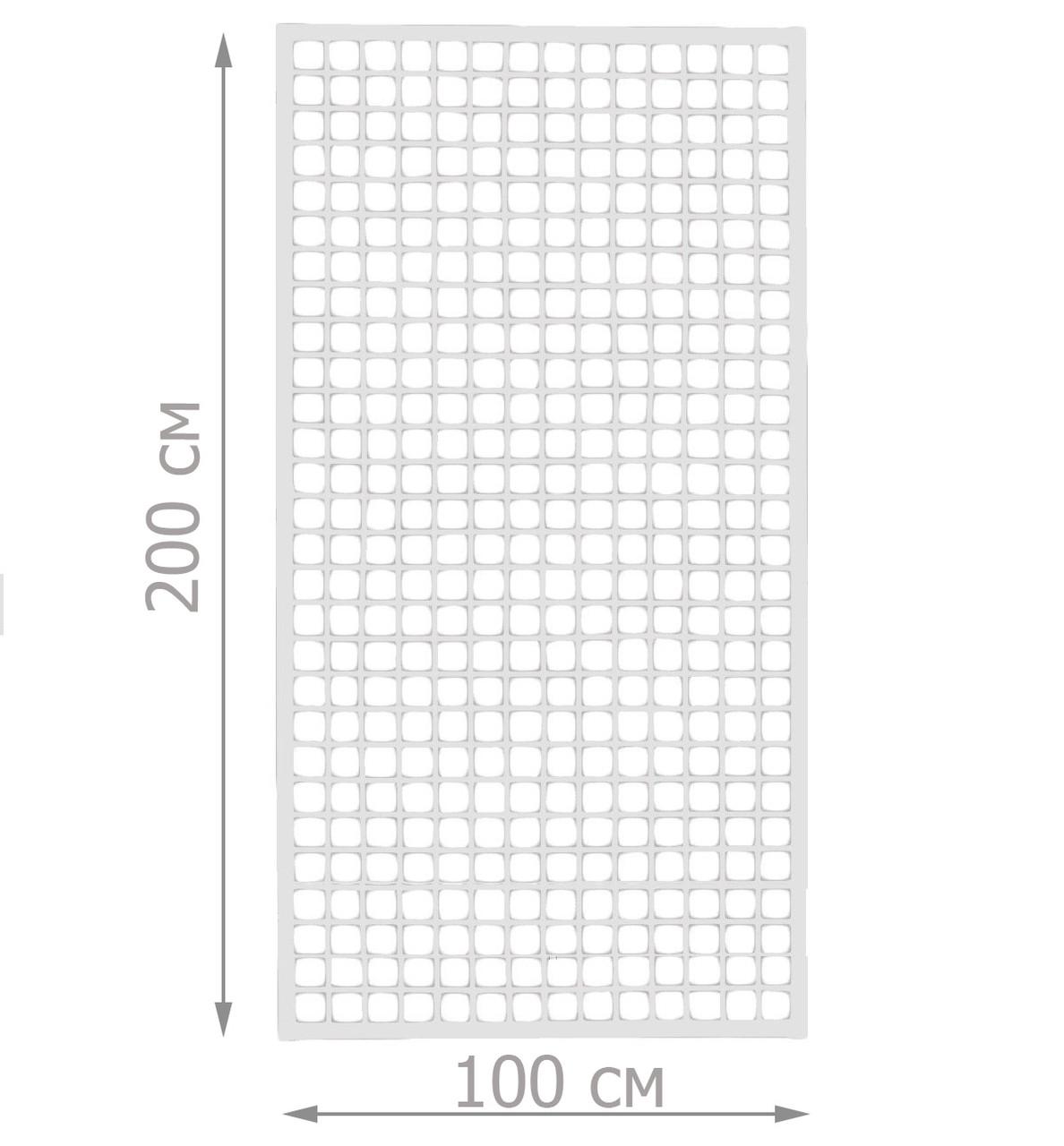 Торговая сетка стенд в рамке 100/200см проф 20х20 мм (от производителя оптом и в розницу)