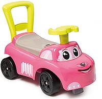 Автомобіль-каталка 2 в 1 Smoby Ride On Pink 720524, фото 1