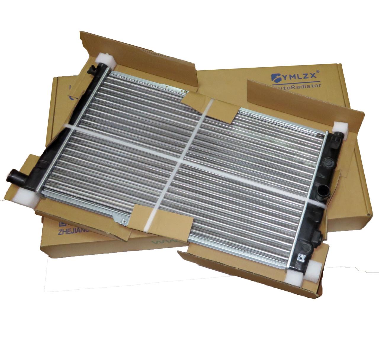 Радиатор основной Нексия МКПП, YMLZX, YML-R042, 96144850, 96144570, 96180782, 96144847