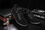 Сlarks Мужские ботинки замшевые зимние черные. Мужские ботинки на шнуровке зима, фото 2