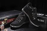 Сlarks Мужские ботинки замшевые зимние черные. Мужские ботинки на шнуровке зима, фото 6