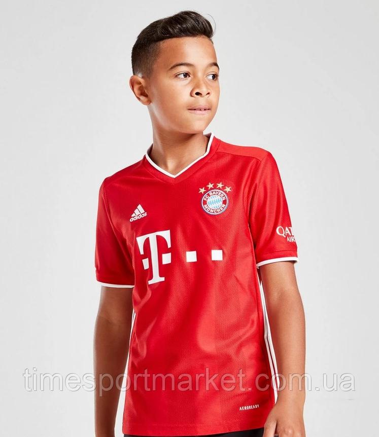 Детская Футбольная форма Бавария Мюнхен домашняя сезон 2020-2021 (Оригинальная Реплика)