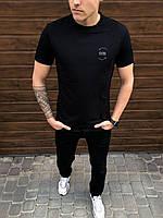 Мужская футболка Peremoga -Karma (черная)