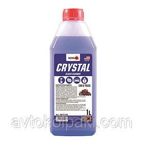 Очиститель стекл концентрат Crystal Glass Cleaner NOWAX 1л